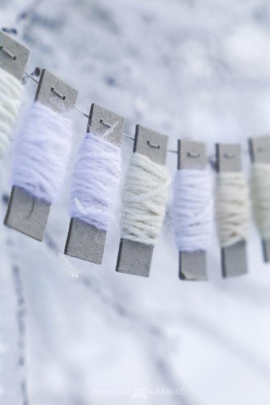 Neulehameen valkoisen talven sävyjä vähän lähempää.