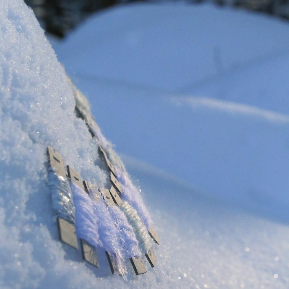 Talven ihmemaa ja neulehameen valkeat sävyt!