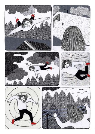 Hauki sarjakuva_iristanttu_2