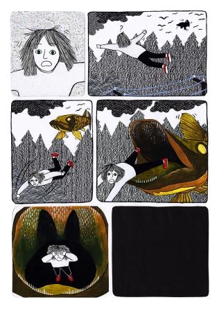 Hauki sarjakuva_iristanttu_3